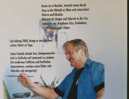 "Portrait ""Willi Rüegsegger"""
